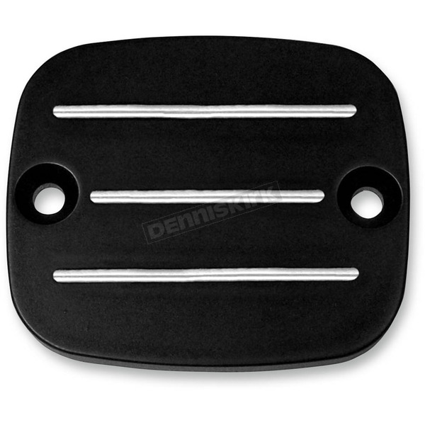 Accutronix Night Series Master Cylinder Cap w/Milled Lines - C-122-MN