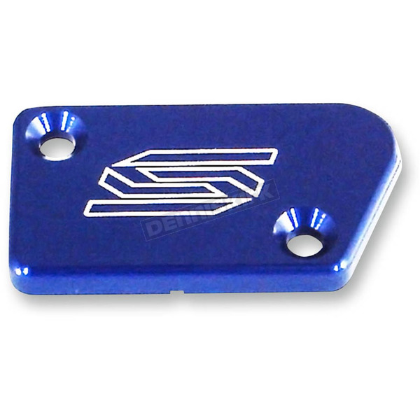 Scar Blue Anodized Front Brake Reservoir Cover - 1801B