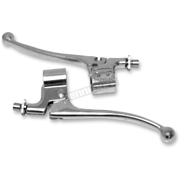 Emgo Amal Style Replica Brake Lever Assembly - 32-69651