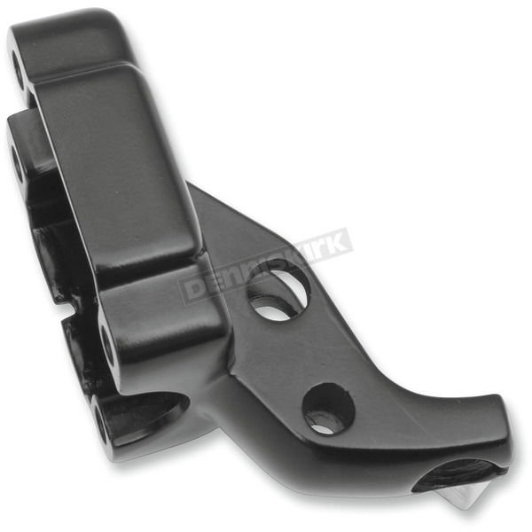 Drag Specialties Matte Black Clutch Lever Bracket - 0615-0196