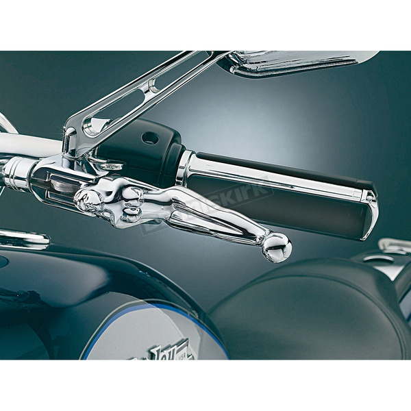 Kuryakyn Chrome Silhouette Levers - 1049