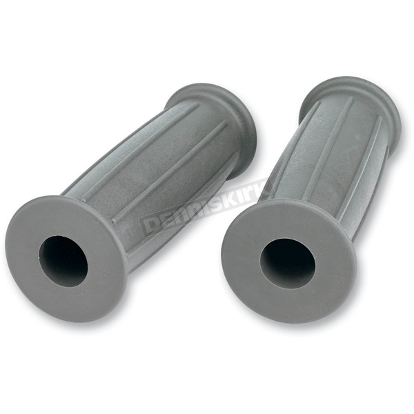 Lowbrow Customs Dove Gray GT Grips - 003039
