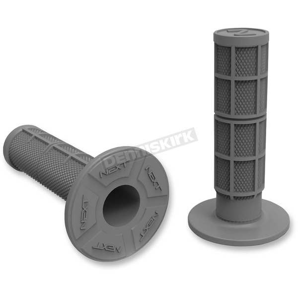 Next Components Light Gray Half Waffle Soft Compound Grips - HW-102