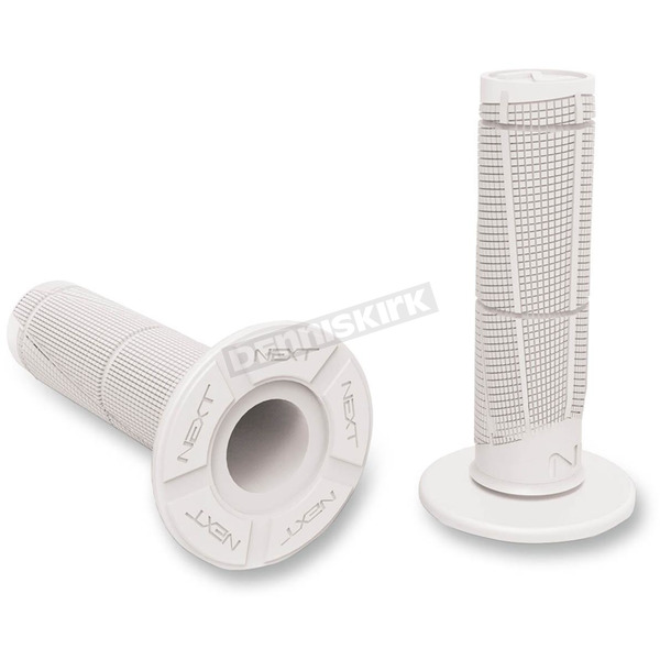 Next Components White Cam Soft Grips - CM-105