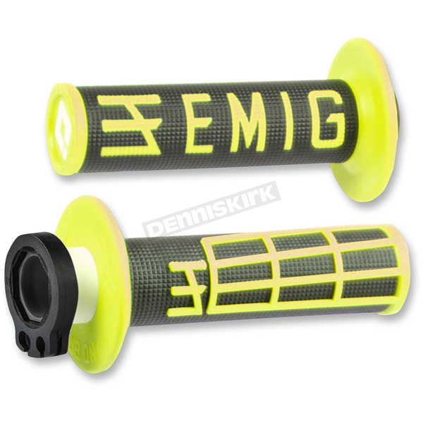 ODI Black/Yellow Emig V2 Lock-On Grips - H32EMBY1
