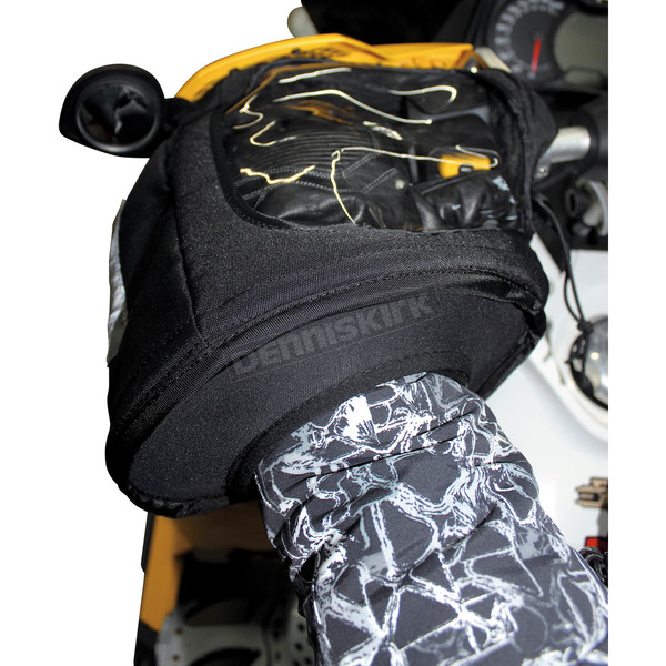 Kimpex Black Snowmobile Gauntlet w/Window - 370291