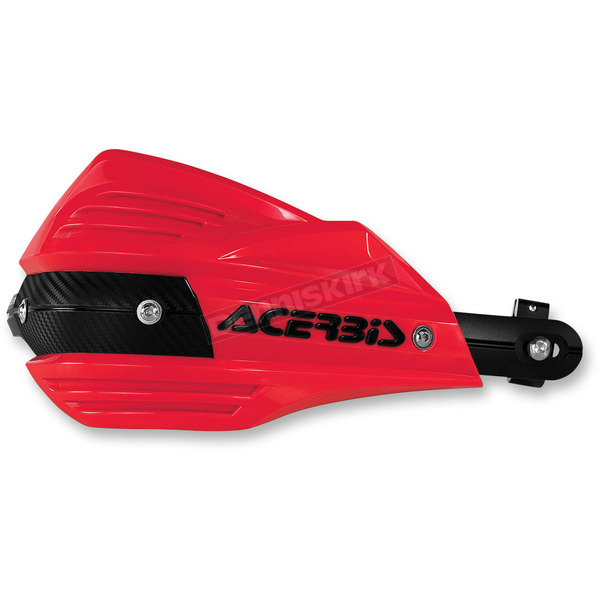 Acerbis Red X-Factor Handguards - 2374190004