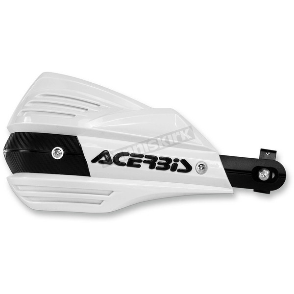 Acerbis White X-Factor Handguards - 2374190002