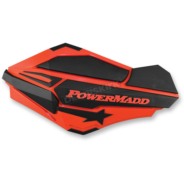 PowerMadd Honda Red/Black Sentinel Handguards - 34407