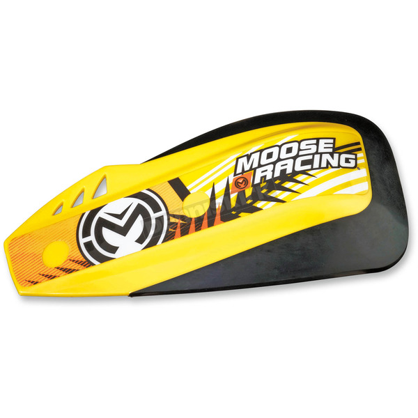 Moose Yellow Podium Shields for Probend/Rebound Handguards - 0635-1113
