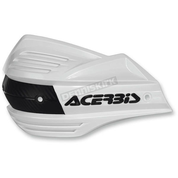Acerbis White Replacement Plastic for X-Factor Handguards - 2393480002