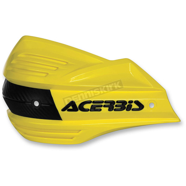 Acerbis Yellow Replacement Plastic for X-Factor Handguards - 2393480005