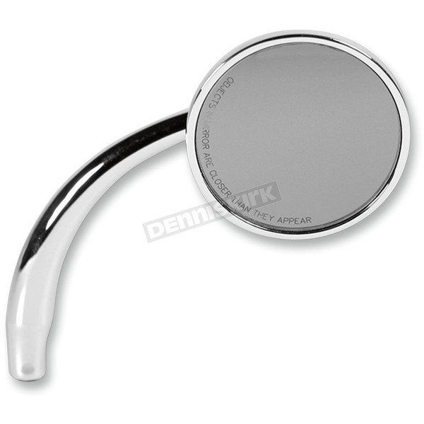 Chrome Right Round Mirror - RWD-50107