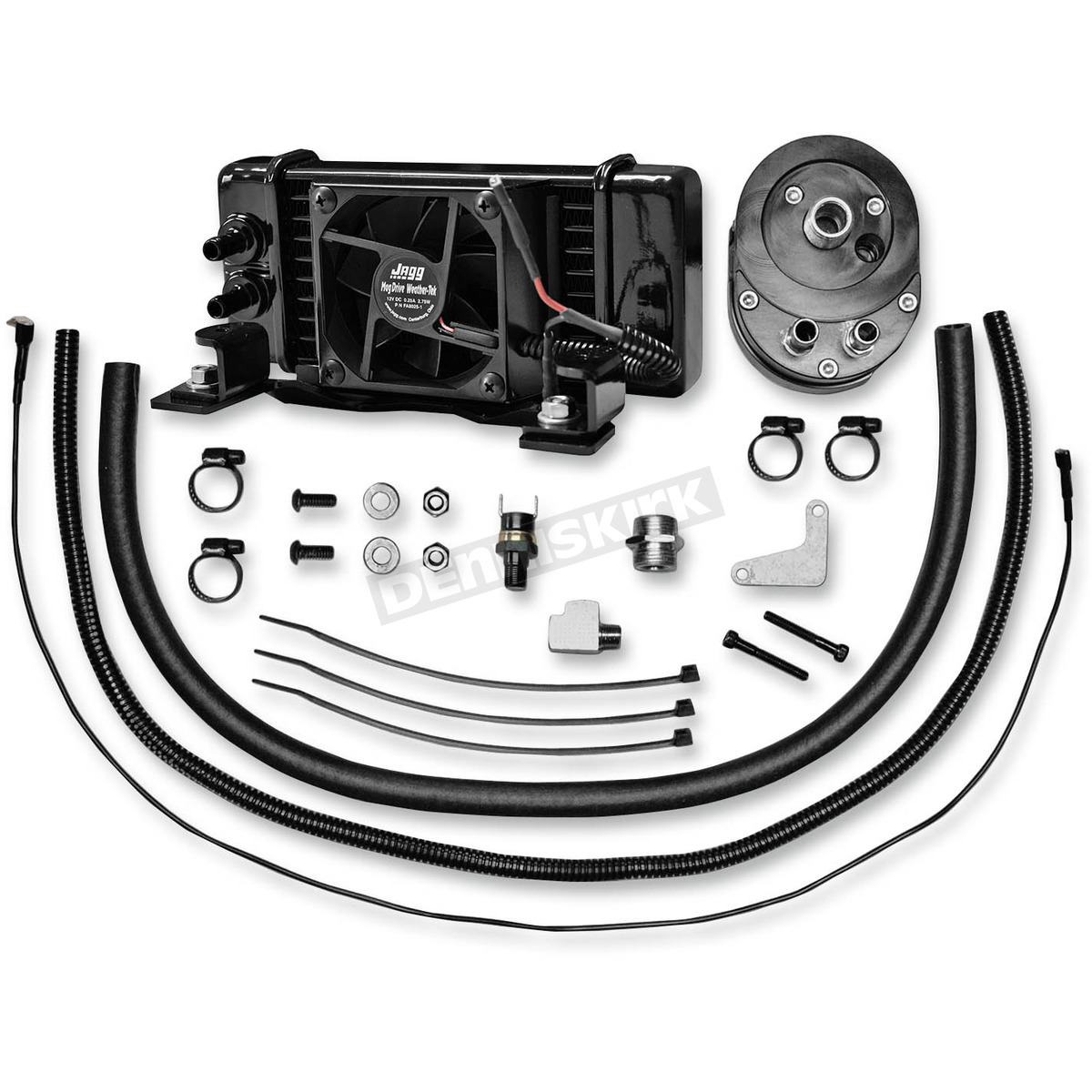 jagg low-mount fan-assisted oil cooler kit