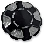 Black Techno Gas Cap - 10-443B
