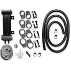 Deluxe 6-Row Vertical Frame-Mount Oil Cooler Kit - 750-1000