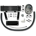 Black 6-Row Horizontal Low-Mount Oil Cooler  - 750-1290