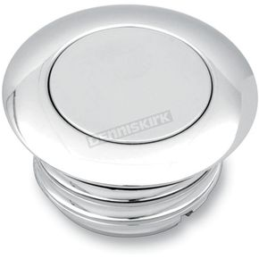Drag Specialties Chrome Vented Pop-Up Gas Cap - 0703-0459