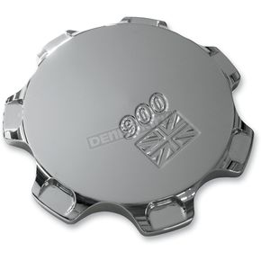 Joker Machine 900 Union Jack Chrome Gas Cap - 09-040UC
