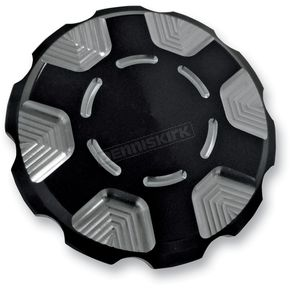 Joker Machine Black Techno Gas Cap - 10-443B