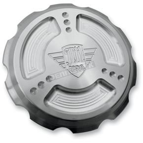 Joker Machine Clear Anodized JM U.S.A. Gas Cap - 10-440S