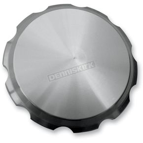 Joker Machine Clear Anodized smooth Gas Cap - 10-442S