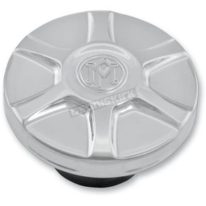 Performance Machine Chrome Array Custom Dummy Gas Cap - 02102019ARYCH