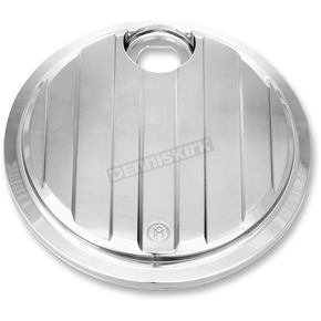 Performance Machine Chrome Drive Style Fuel Door - 0200-2005DRV-CH