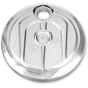 Performance Machine Chrome Scallop Style Fuel Door - 0200-2005SCA-CH