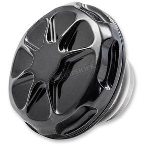 LA Choppers Decadent Black Powdercoat Fusion Gas Cap - LA-F320-00B