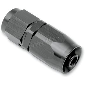 Goodridge Black Anodized Aluminum Build Your Own Straight Hose End Oil Fitting - 1136-0106BK
