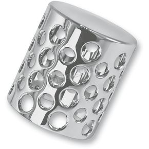 Battistinis Custom Cycles Chrome Oil Filter Cover - 03-450