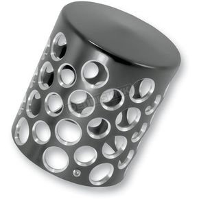 Battistinis Black Oil Filter Cover - 03-451