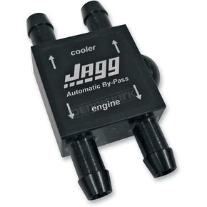 Jagg Automatic Oil Cooler By-Pass Valve - 4050