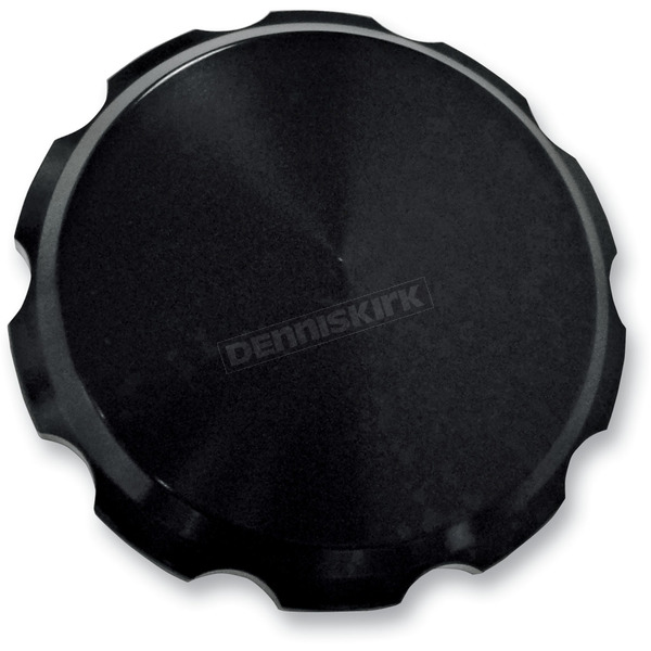 Joker Machine Black Smooth Gas Cap - 10-442B