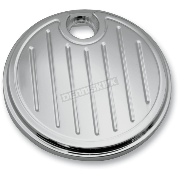 Pro-One Chrome Ball-Milled Fuel Door - 908315