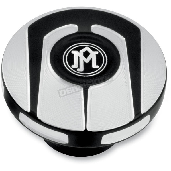 Performance Machine Contrast Cut Scallop Custom Dummy Gas Cap - 02102019SCABM