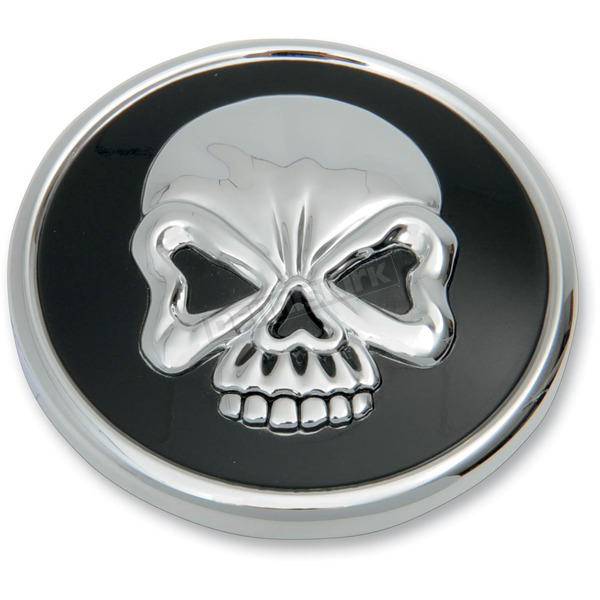 Drag Specialties Vented Skull Gas Cap  - 0703-0523