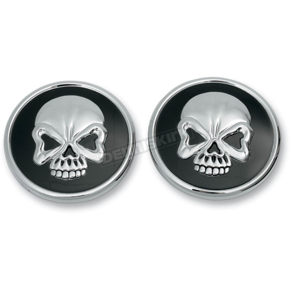 Drag Specialties Skull Gas Cap Set - 0703-0524