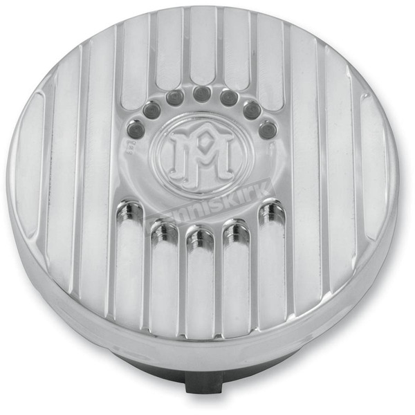 Performance Machine Chrome Grill LED Fuel Gauge - 02102025GRLCH
