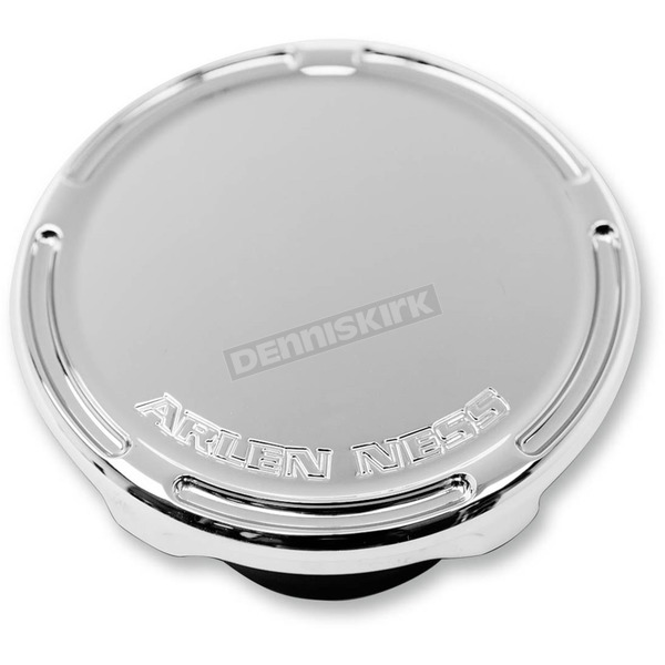 Arlen Ness Chrome Slot Track Vented Gas Cap - 70-005