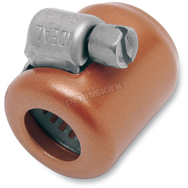 NAMZ Custom Cycle Products Copper Hose Clamp for 1/4 in. and 5/16 in. Fuel Lines - NHC-C106