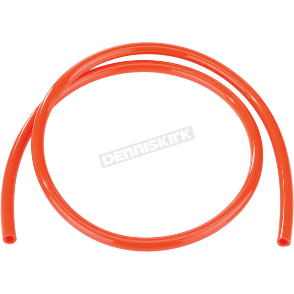 Moose 8 mm I.D. 5/16 in. Orange Fuel Line - 0706-0305