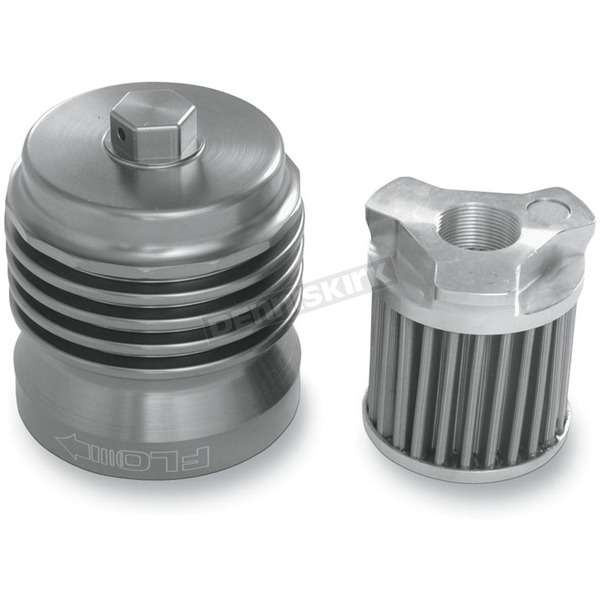 FLO Oil Filters Stainless Steel Reusable Spin On Oil Filter - PCS1