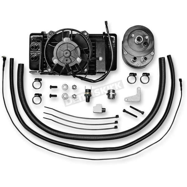 Jagg Low-Mount Fan-Assisted Oil Cooler Kit  - 751-FP2400