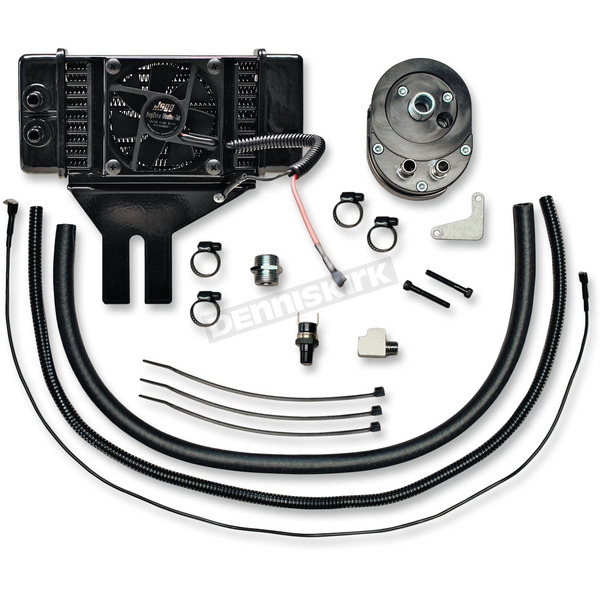 Jagg Low-Mount Fan-Assisted Oil Cooler Kit  - 751-FP2500