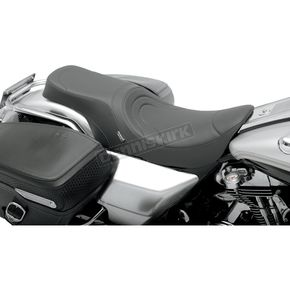 Drag Specialties Stitched Predator 2-Up Seat - 0801-0368