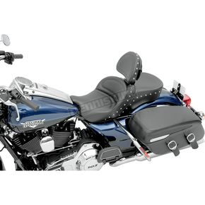 Saddlemen Explorer Special Seat w/Driver Backrest - 0801-0621