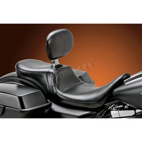 LePera Smooth Daytona Two-Up Seat w/Driver Backrest - LK-567BR