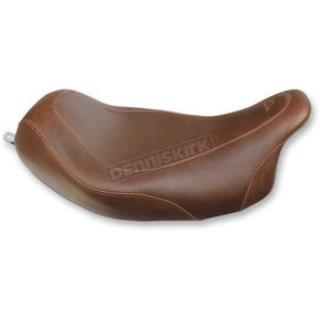 Mustang Seats Brown Wide Tripper Solo Seat - 76720